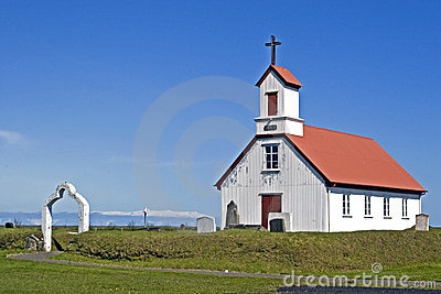Church on Iceland