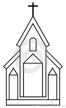 Free Church Icon Stock Photos - 14773733