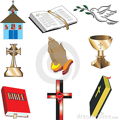 Free Church Icons 1 Stock Image - 12529461