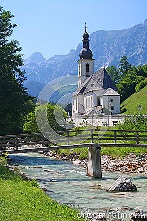 Free Church In Bavaria, Germany Stock Photos - 10224193
