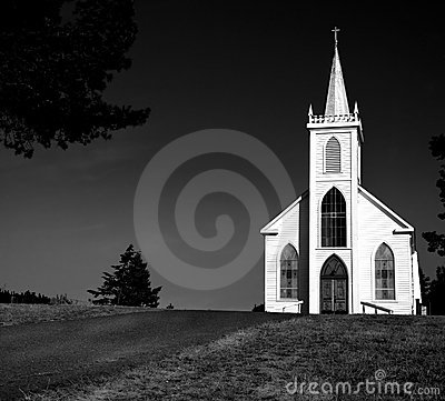 Free Church In Bodega Bay Royalty Free Stock Photography - 149157