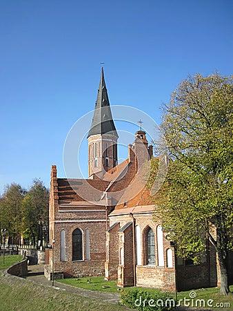 Free Church In Kaunas Royalty Free Stock Image - 21746156