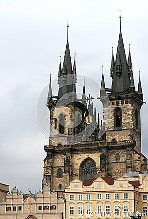 Free Church In Prague Stock Photos - 692893