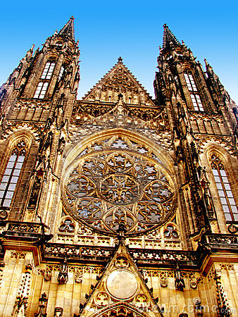 Free Church In Prague Royalty Free Stock Image - 9424846