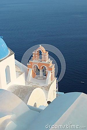Free Church In Santorini Royalty Free Stock Photos - 1344058