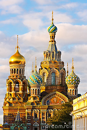 Free Church In St. Petersburg Royalty Free Stock Photography - 21832537