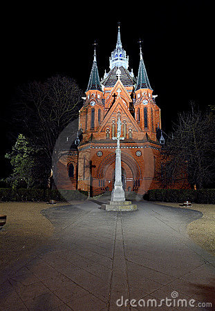Free Church In Town Breclav Royalty Free Stock Photography - 13789517