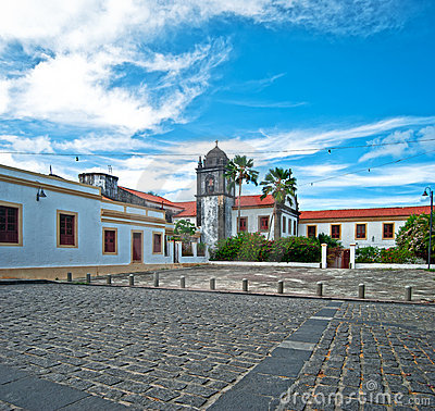Free Church In Tropical Village Stock Photos - 18189543