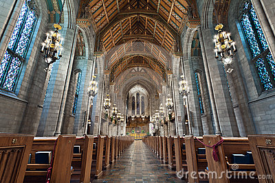 Church Interior. Royalty Free Stock Photos - Image: 24421958