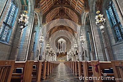 Church Interior.
