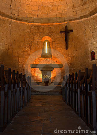 Church interior Provence