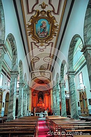 Church interiors