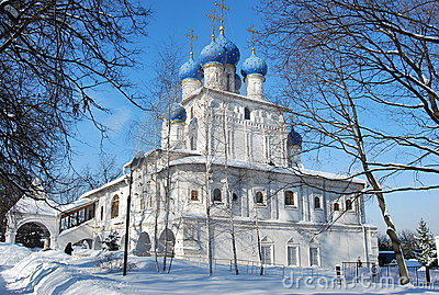 Church of the Kazan icon of Bozhiej of Mother.