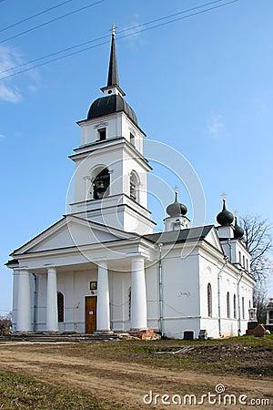 Church in Kobona, Russia