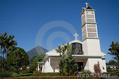 Church in La Fortuna