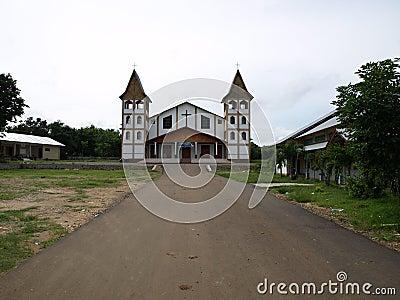 Church, Labuan Bajo, Flores, Indonesia