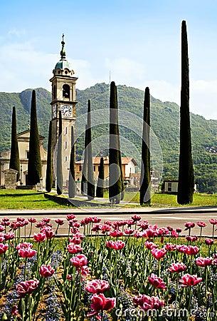 Church in Lugano, Switzerland