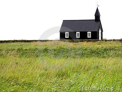 A church in the middle of nature