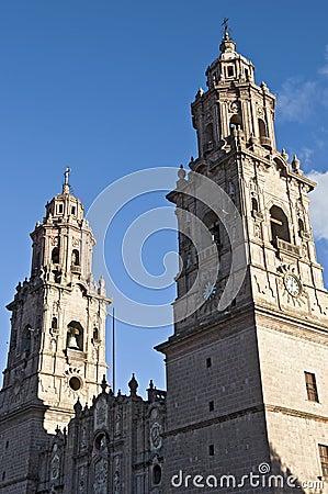 Church in Morelia, Mexico