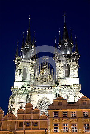 The Church of Mother of God before Tyn, Prague