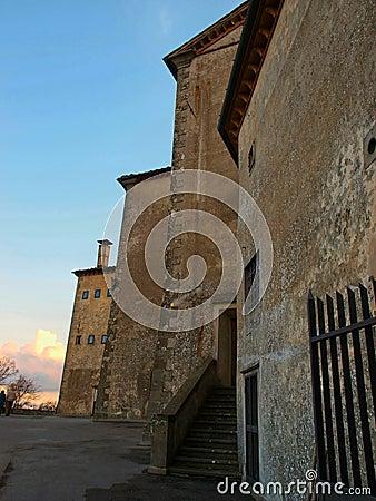 Church on mount senario tuscany