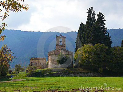Church near Banyoles