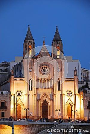 Church at Nightfall