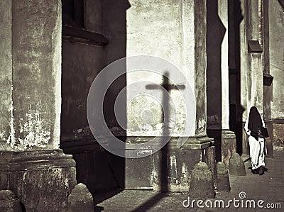 Church and nun
