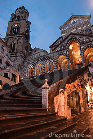 Free Church Of Amalfi Stock Images - 14662484