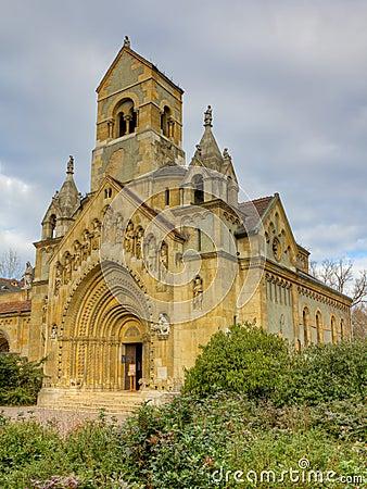 Free Church Of Jak, Vajdahunyad Castle, Budapest Royalty Free Stock Image - 22927846