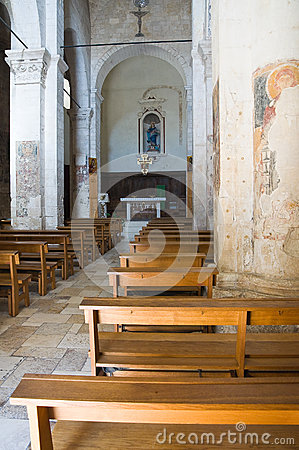 Free Church Of St. Maria Maggiore. Monte Sant Angelo. Puglia. Italy. Royalty Free Stock Photos - 33924448