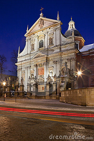 Free Church Of St Peter & St Paul - Krakow - Poland Royalty Free Stock Photography - 23354307