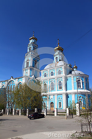 Free Church Of The Ascension Royalty Free Stock Photo - 71822685