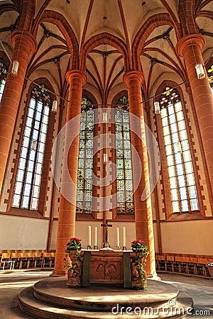 Free Church Of The Holy Spirit Architecture. Heidelberg Royalty Free Stock Photo - 22849605