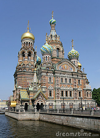 Free Church Of The Savior On Blood. St. Petersburg Stock Photo - 10542760