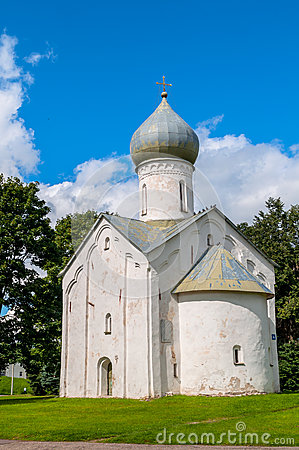 Free Church Of The Twelve Apostles On The Abyss In Veliky Novgorod, Russia Royalty Free Stock Images - 90888339