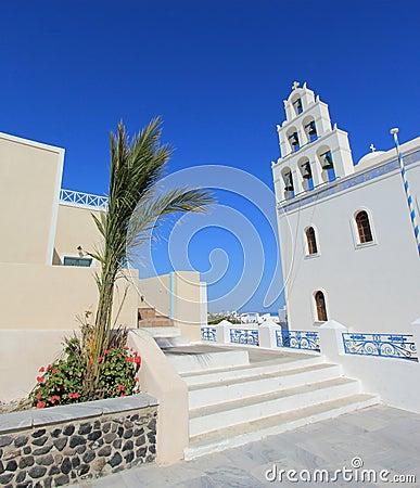 Church, Oia, Santorini Greece