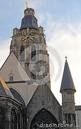 Church in Oudenaarde, Belgium
