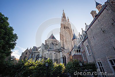 The Church of our Lady in Bruges