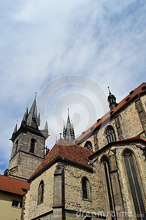 Church of our lady in Prague, Czech Republic