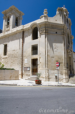 Church our lady of victories valletta malta