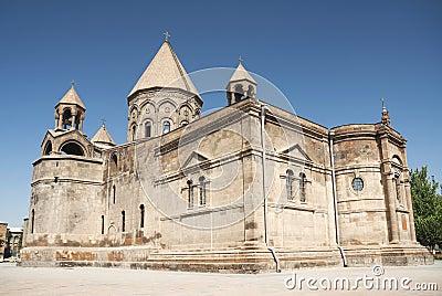 Church outside yerevan armenia