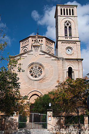 Church in Palma de Majorca