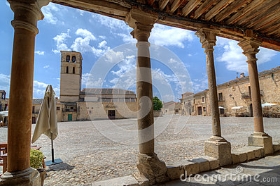 Church. Pedraza