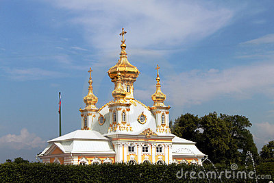Church in Peterhof
