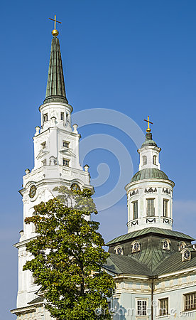Church of Petropavlovsk in Riga, Latvia