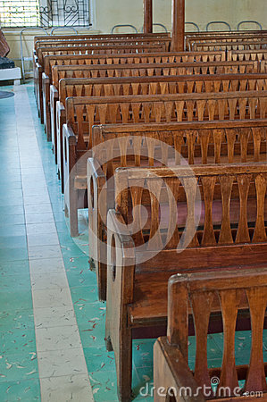 Church Pews Royalty Free Stock Image - Image: 24654386
