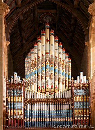 Church pipes