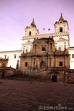 Church- Quito, Ecuador