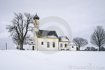 Church at Raiting Bavaria Germany